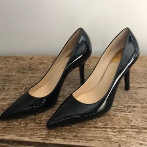COLE HAAN NEW Fiona High Air Pump - Black Patent